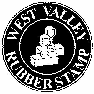 West Valley Rubber Stamp - stamps.engraving.sublimation